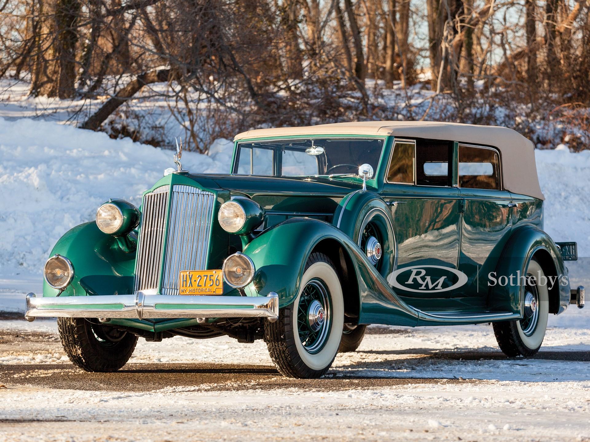 1936 Packard Eight Convertible Sedan