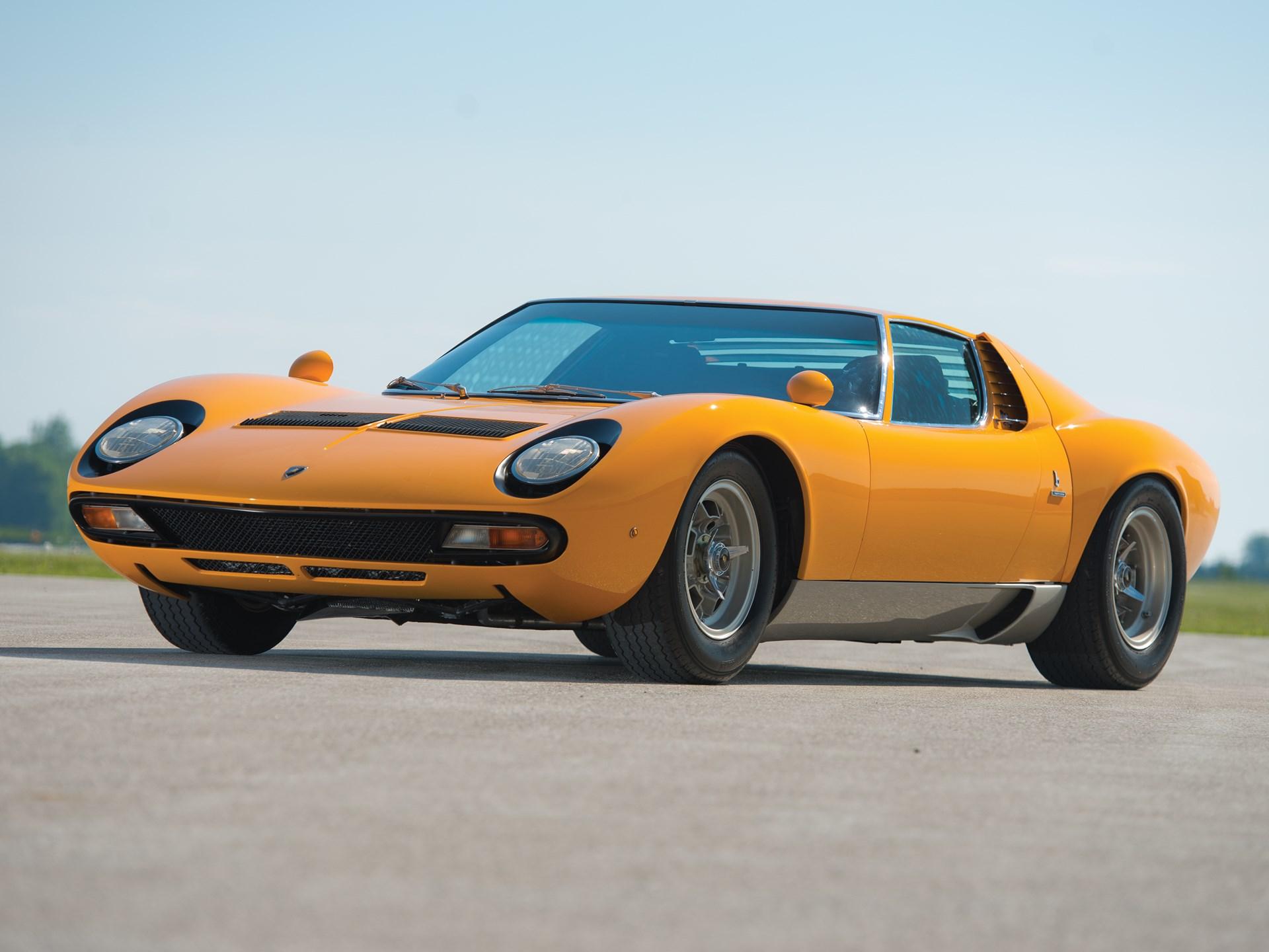 RM Sotheby\'s - 1971 Lamborghini Miura SV | Monterey 2014