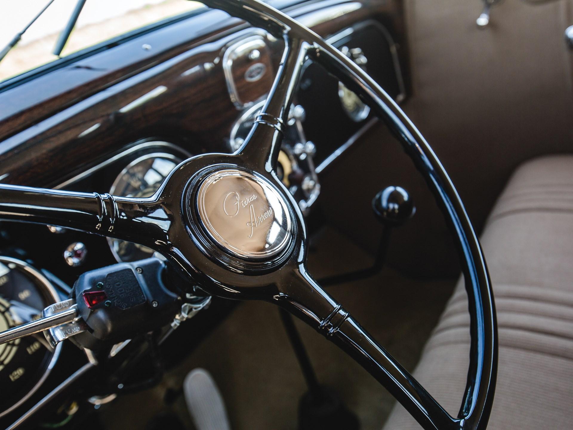 1936 Pierce-Arrow Twelve Seven-Passenger Sedan