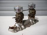 Edelbrock Super Intake Manifold with Dual Ford Carburetors - $