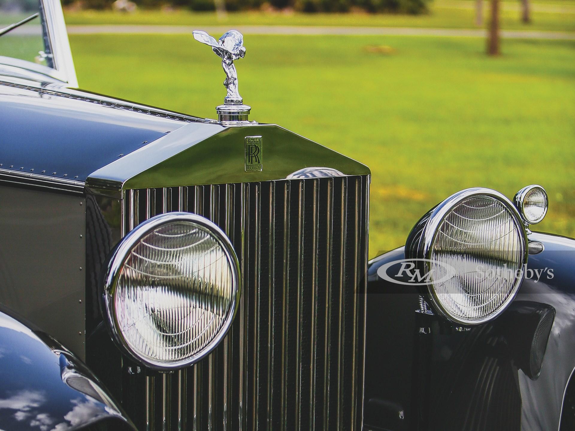 1933 Rolls-Royce Phantom II Newport Town Car by Brewster -