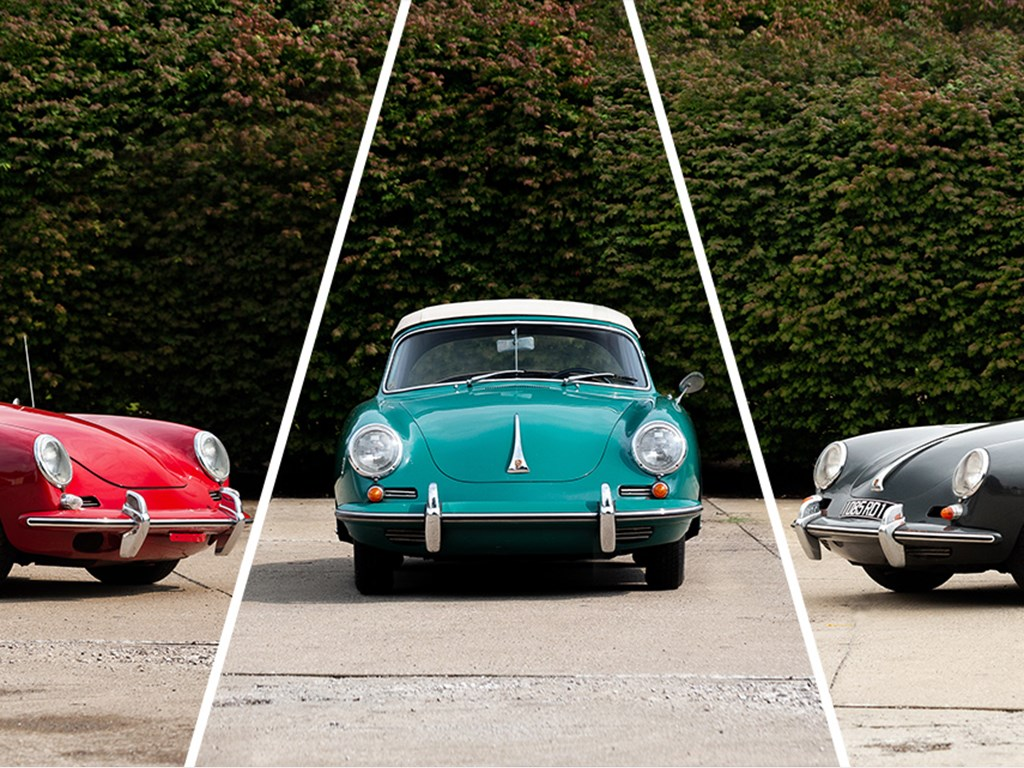 Three Porsche Cars from The King Collection offered at RM Auctions Auburn Fall Live Collector Car Auction 2021