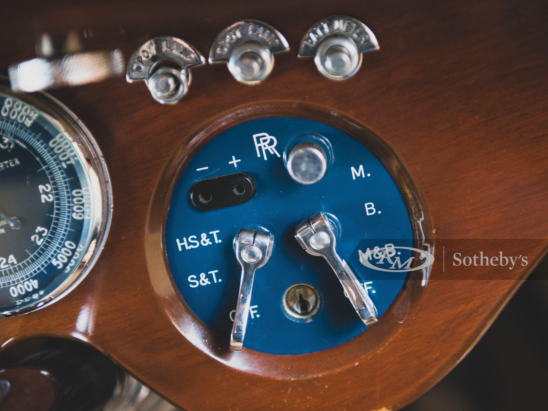 1934 Rolls-Royce Phantom II Continental Close-Coupled Saloon by Barker -