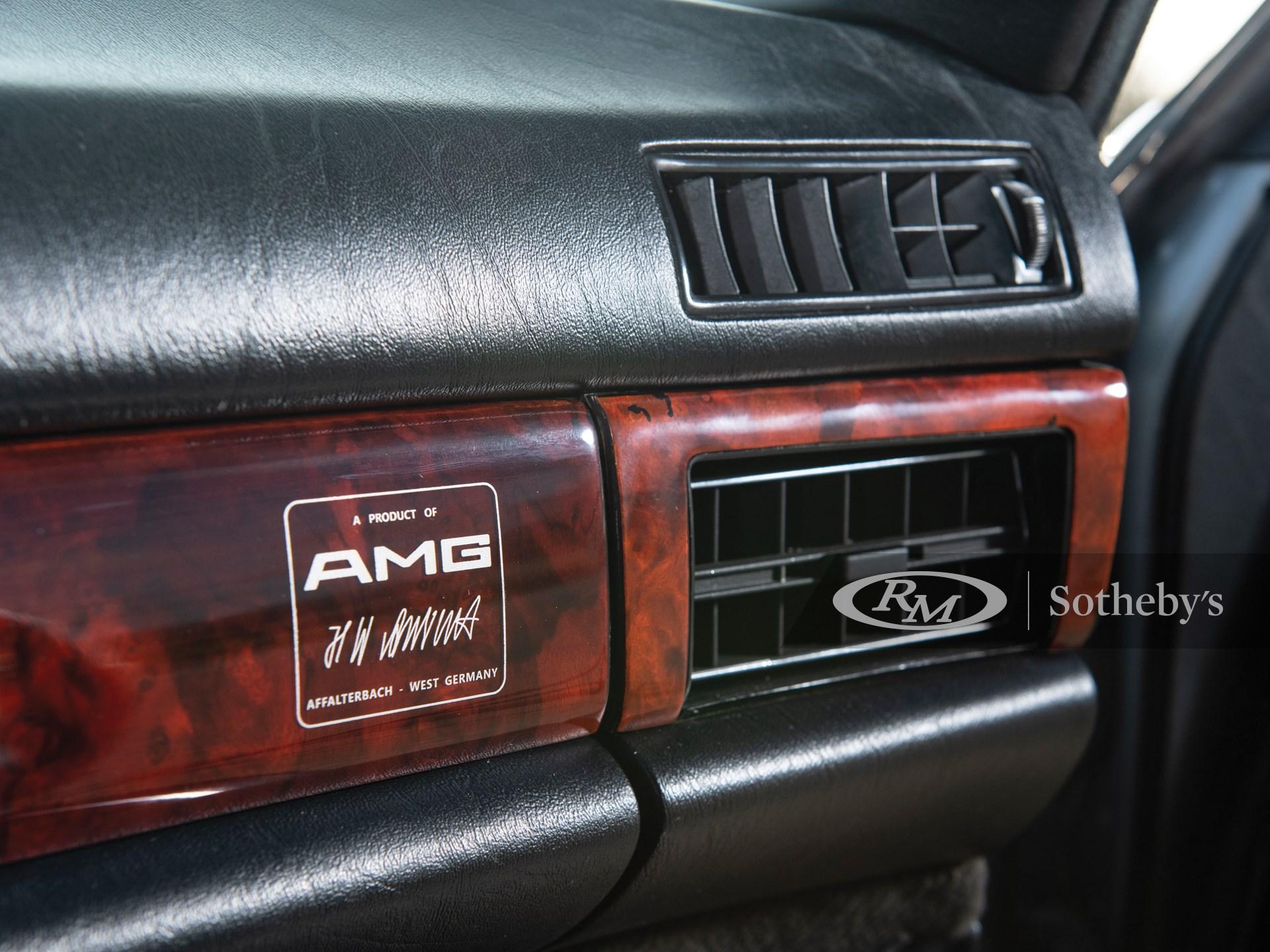1989 Mercedes-Benz 560 SEL 6.0 AMG  -