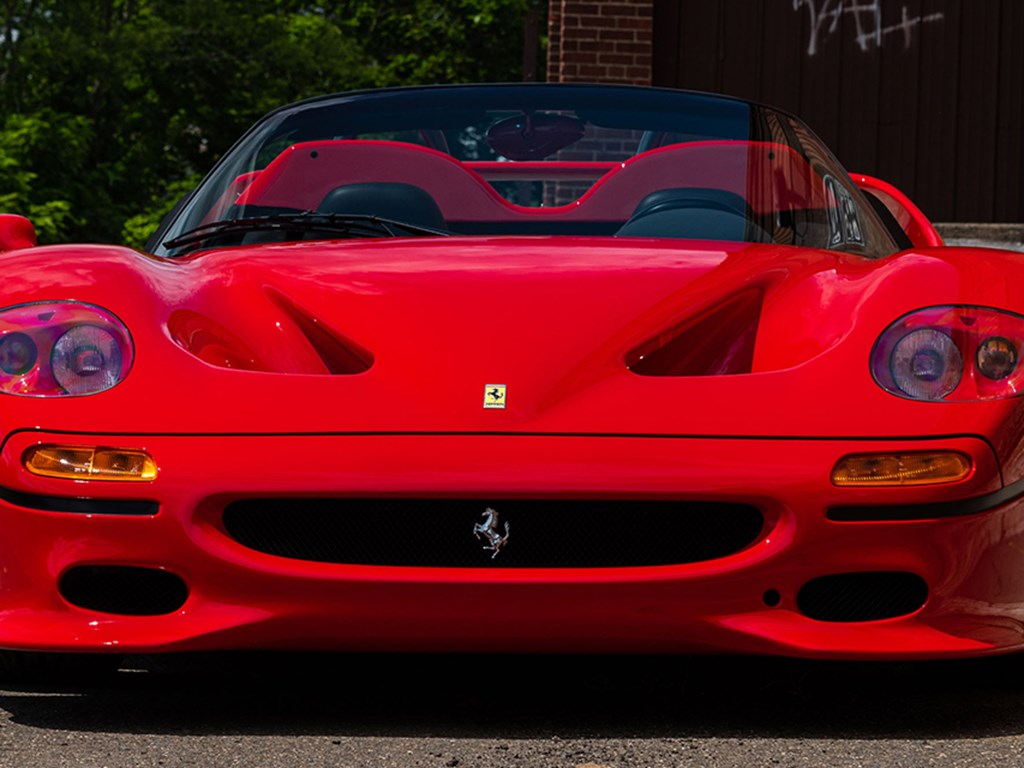 1995 Ferrari F50 Offered at RM Sothebys Monterey Live Auction 2021