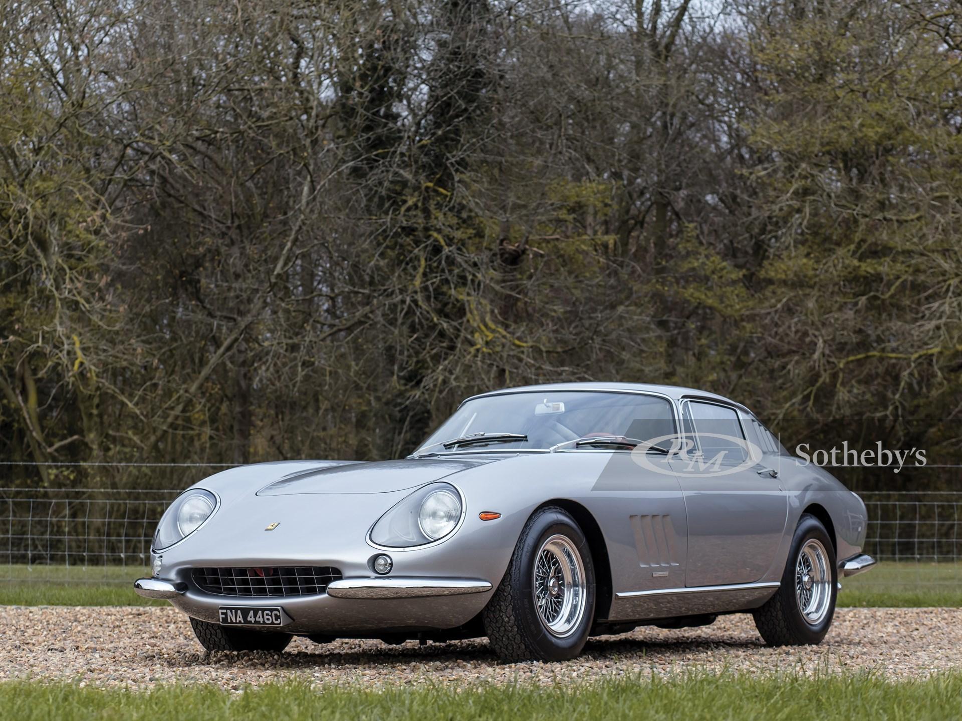 1965 Ferrari 275 GTB Alloy by Scaglietti -