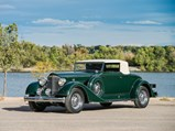 1934 Packard Super Eight Coupe Roadster  - $