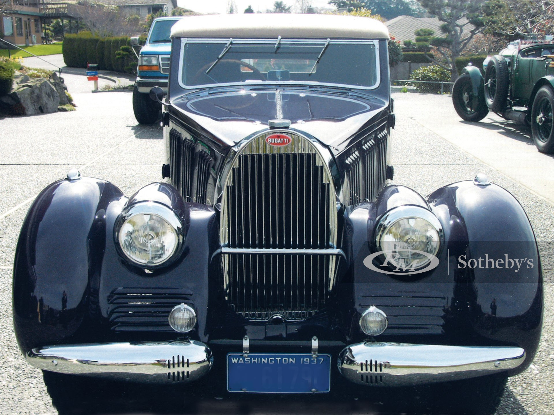 1937 Bugatti Type 57 Stelvio Drophead
