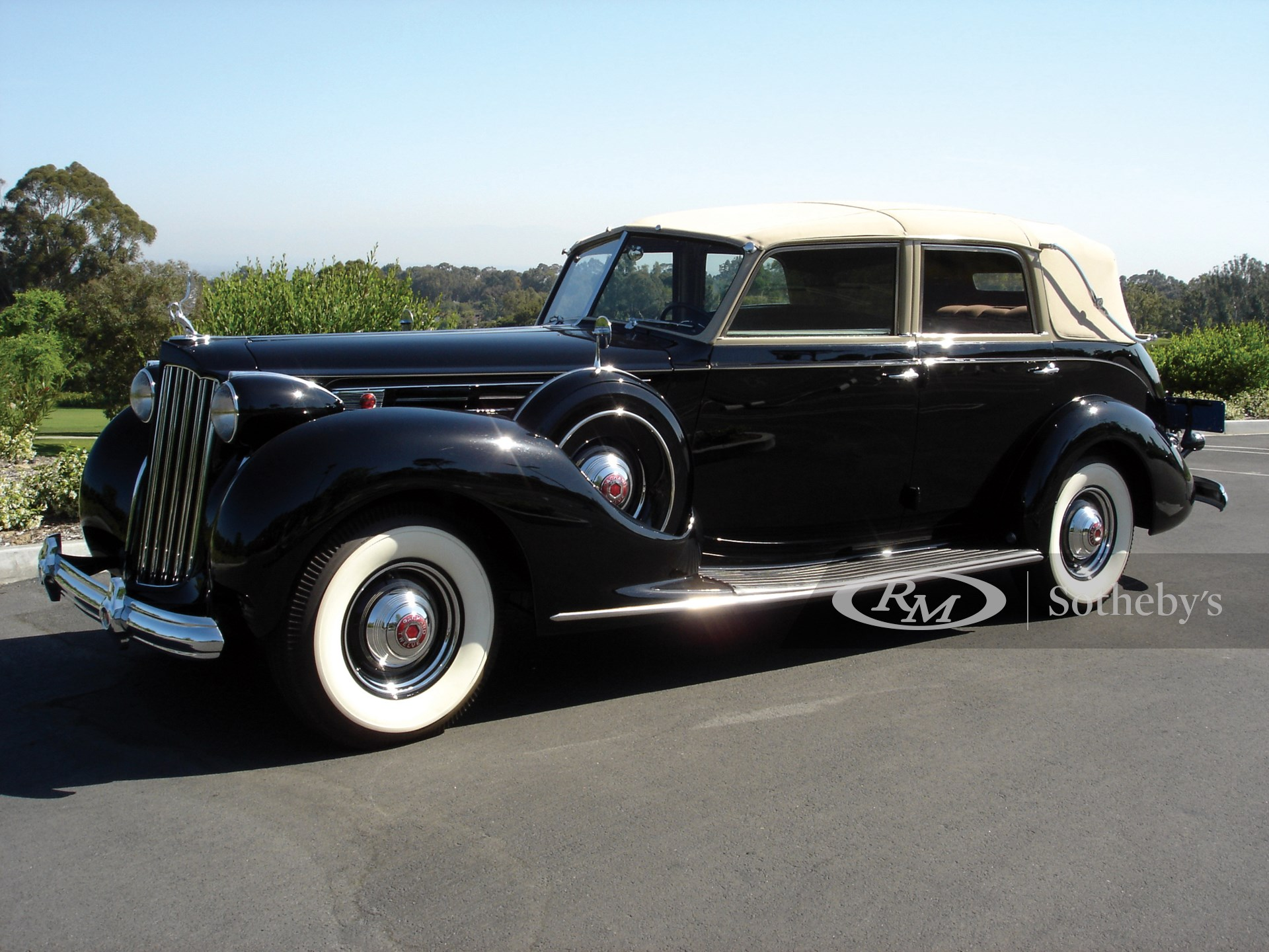 1939 Packard Twelve All Weather Cabriolet by Brunn