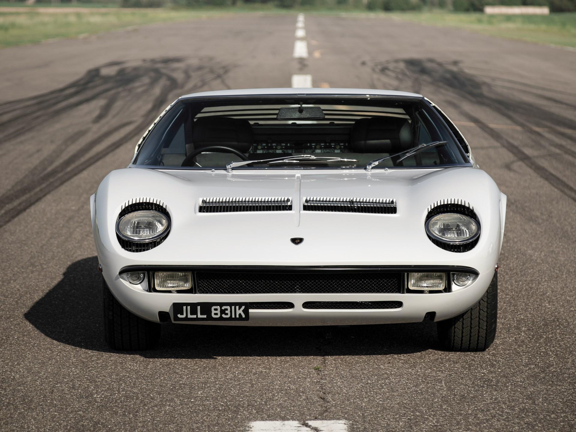 1971 Lamborghini Miura P400 S by Bertone