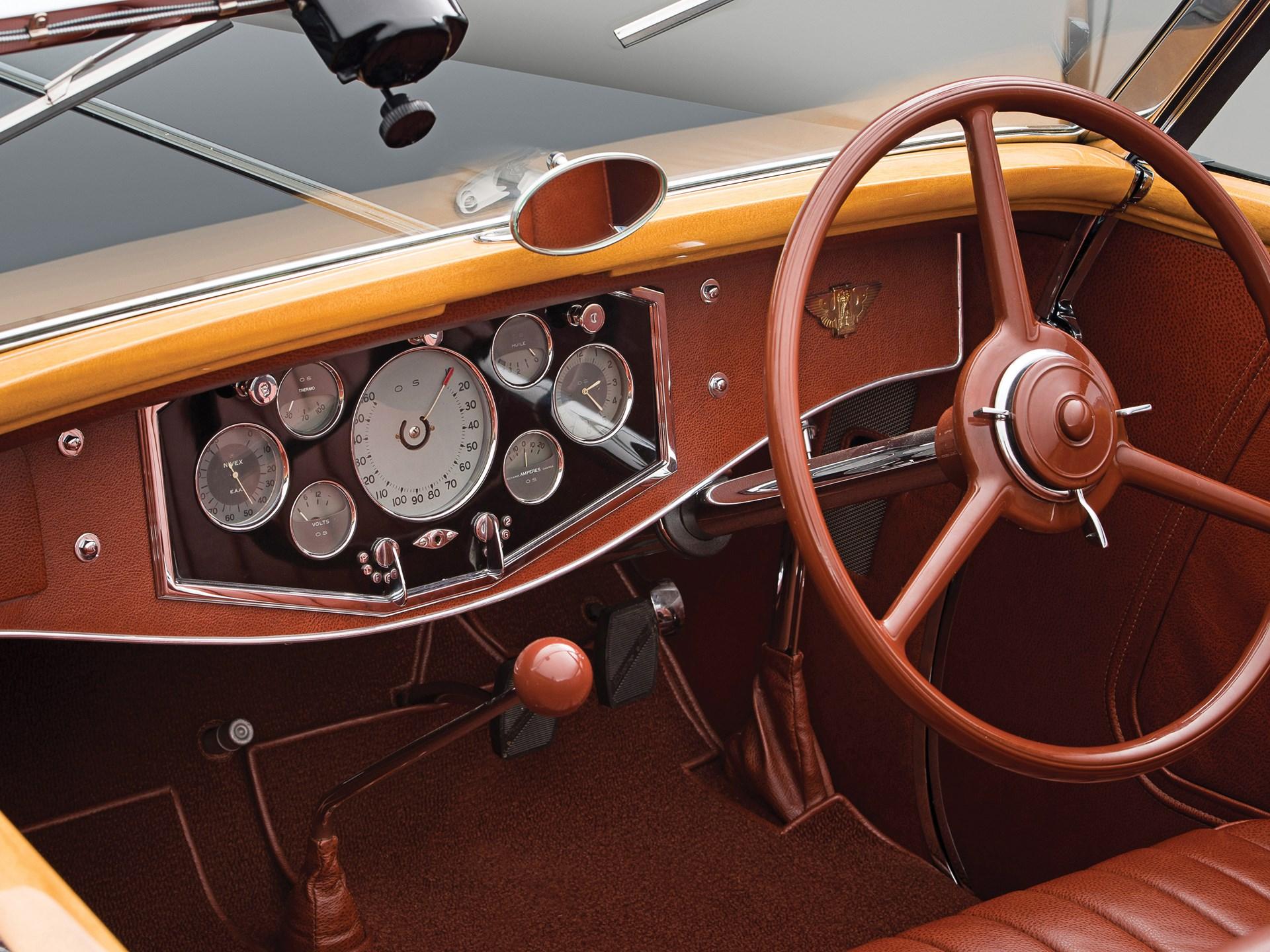 1935 Hispano-Suiza K6 Cabriolet by Brandone