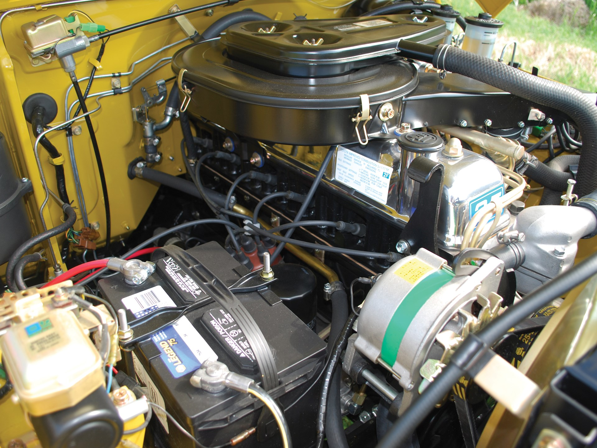 Rm Sothebys 1976 Toyota Land Cruiser Fj40 Motor City 2014 Engine
