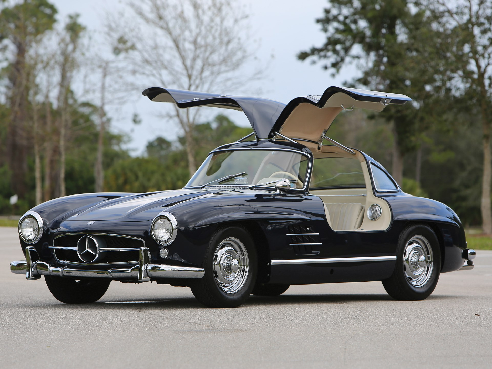 rm sotheby 39 s 1956 mercedes benz 300 sl gullwing amelia island 2018. Black Bedroom Furniture Sets. Home Design Ideas
