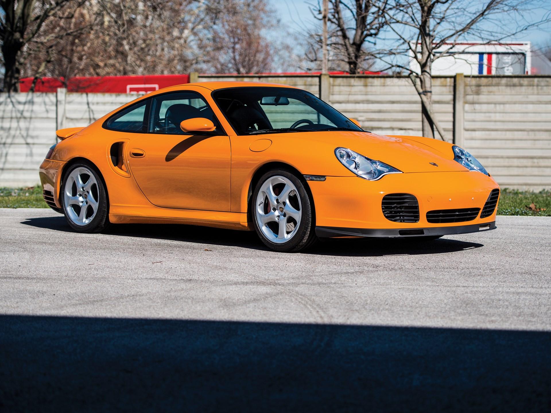 Porsche 996 Turbo >> Rm Sotheby S 2001 Porsche 911 Turbo Monaco 2018