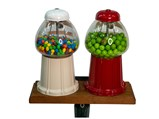 Gumball Machines on Stand - $