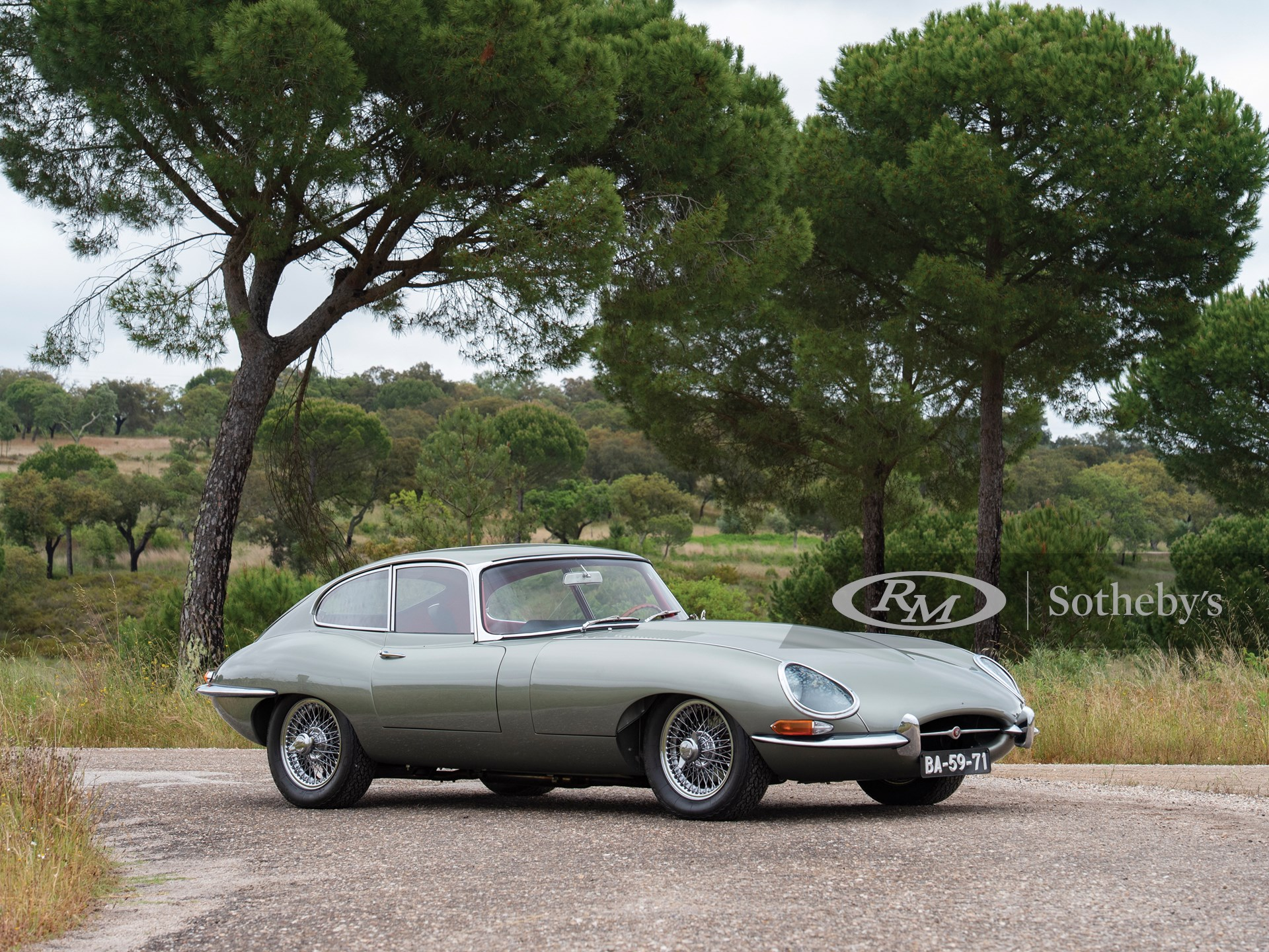 1961 Jaguar E-Type Series 1 3.8-Litre Fixed Head Coupé  -