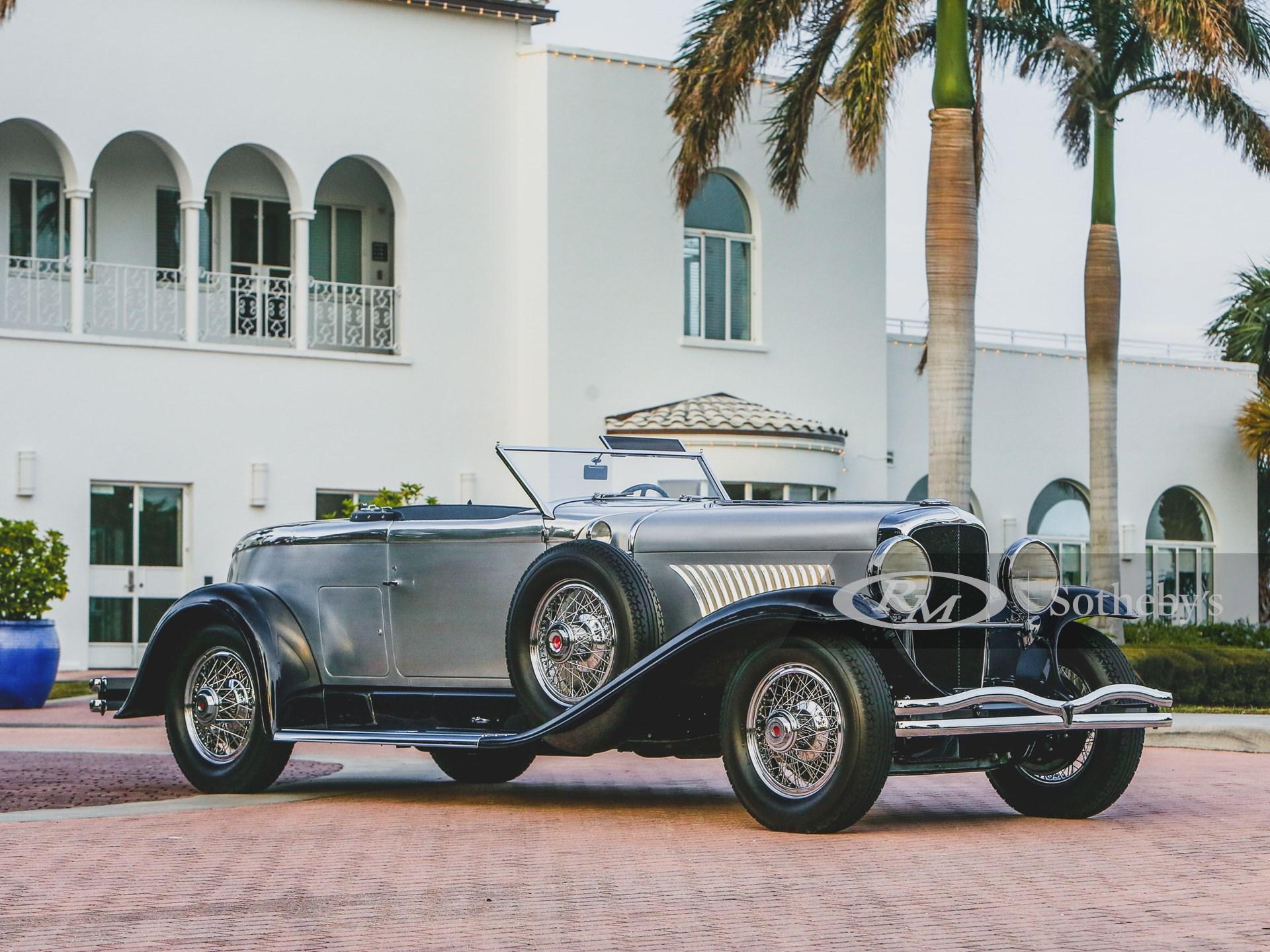 1929 デュ―センバーグモデル J