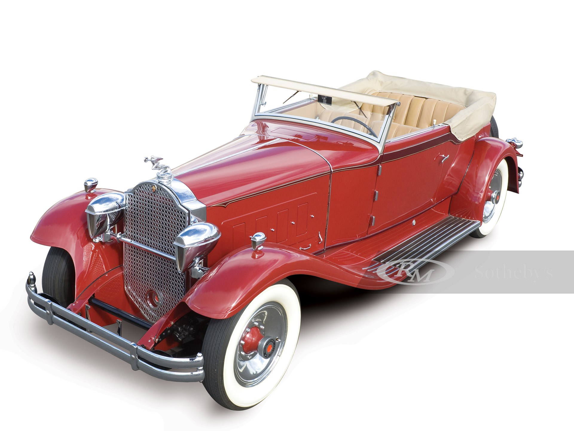 1931 Packard Deluxe Eight Convertible Victoria