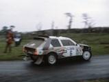 1985 Lancia Delta S4 Rally  - $ Henri Toivonen en route to an overall win at the 1985 Lombard RAC Rally.