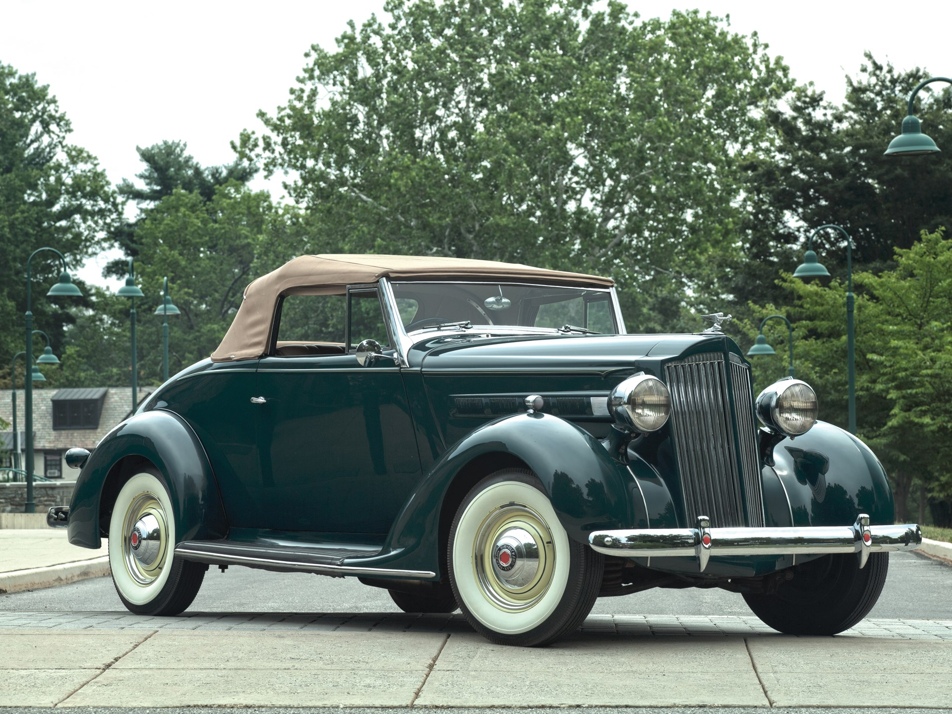 RM Sotheby's - 1937 Packard Six Rumble Seat Convertible