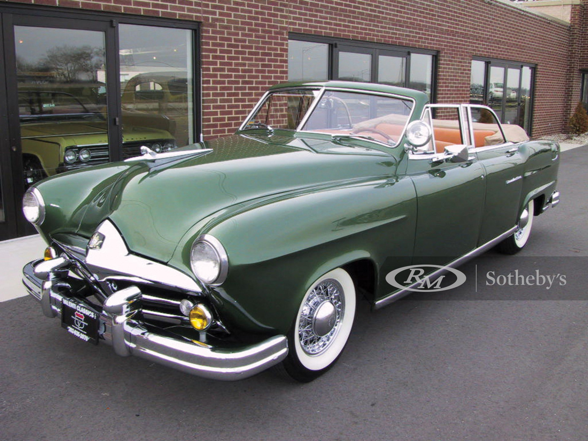 1951 Frazer-Manhattan Convertible Sedan