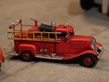 Assortment of Metal Toy Fire Trucks - $