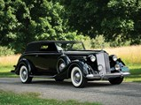1937 Packard Twelve Convertible Victoria by Rollston - $