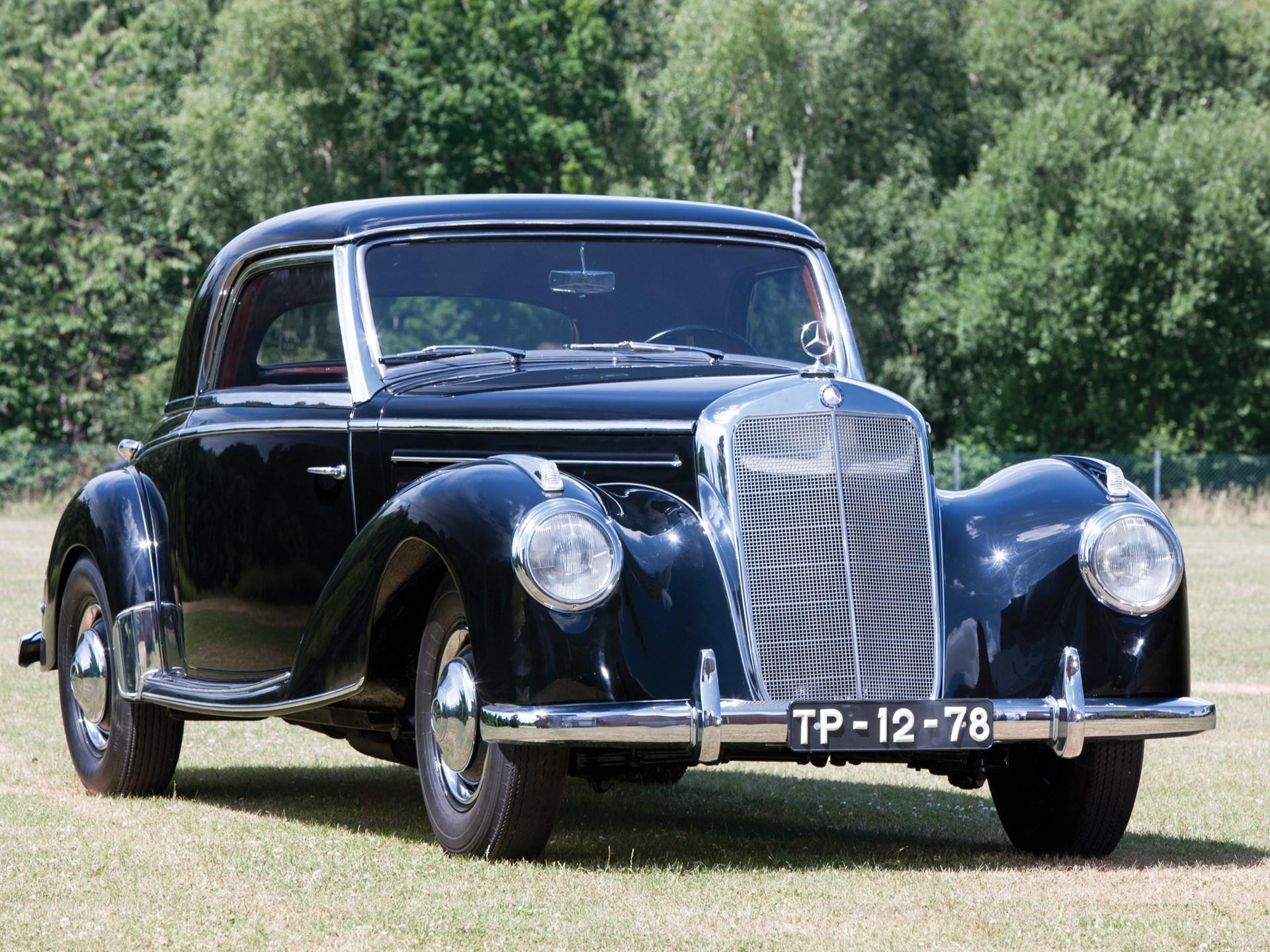 RM Sotheby's - 1951 Mercedes-Benz 220 Coupé Prototype ...