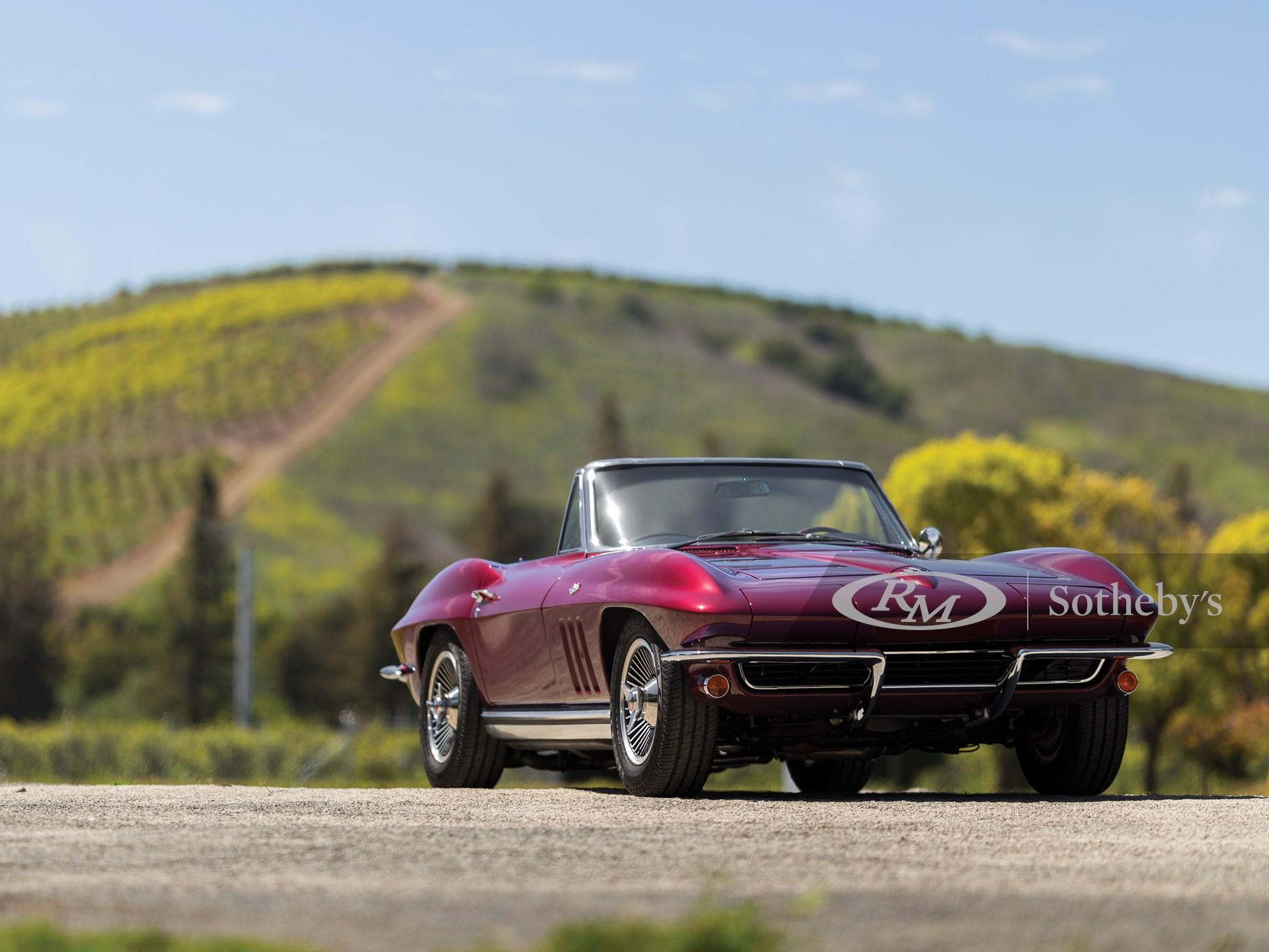 1965 Chevrolet Corvette Sting Ray Convertible  -