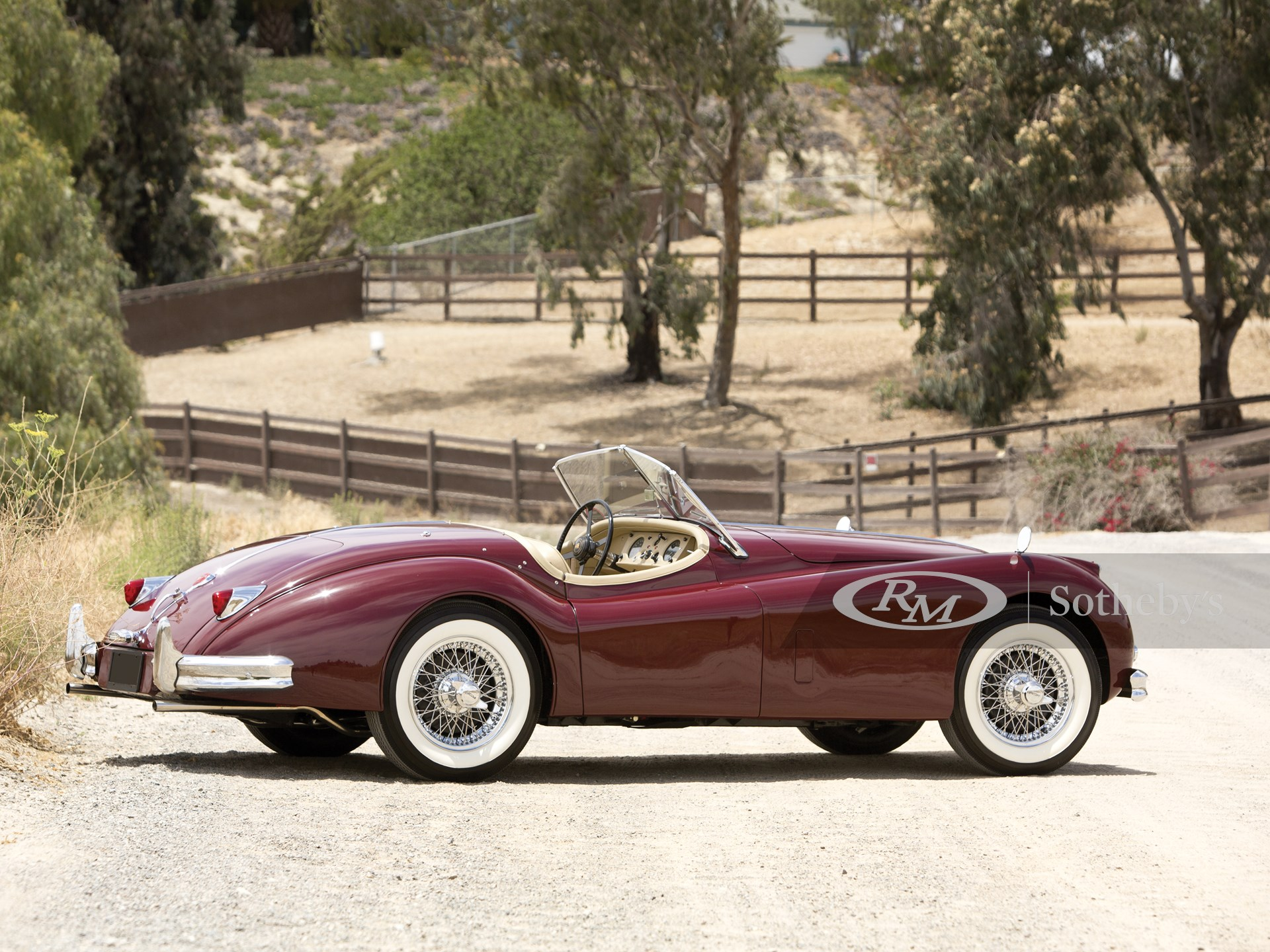 1956 Jaguar XK140 MC 3.4 Roadster  -