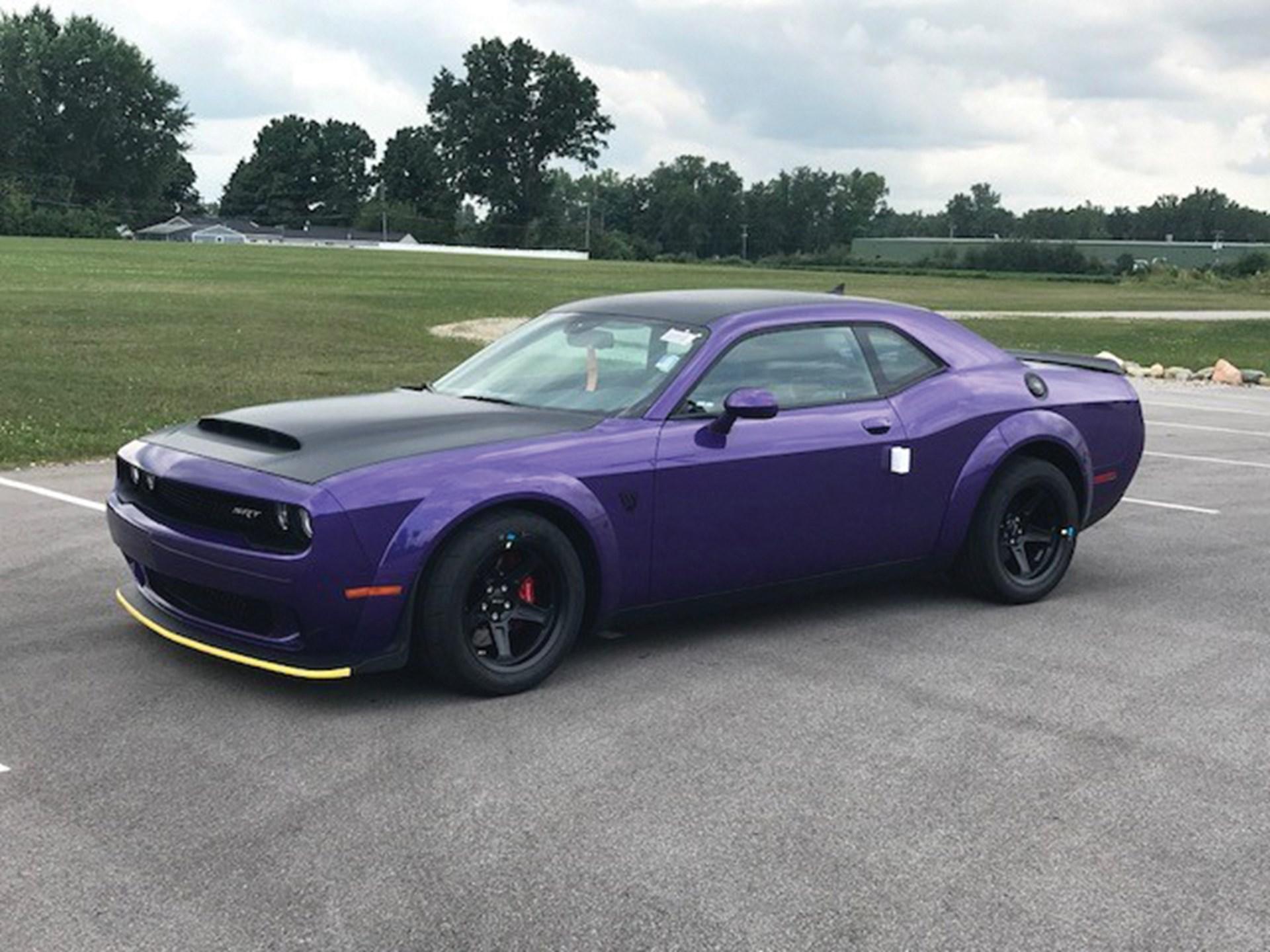 Rm Sotheby S 2018 Dodge Challenger Srt Demon Auburn Fall 2018