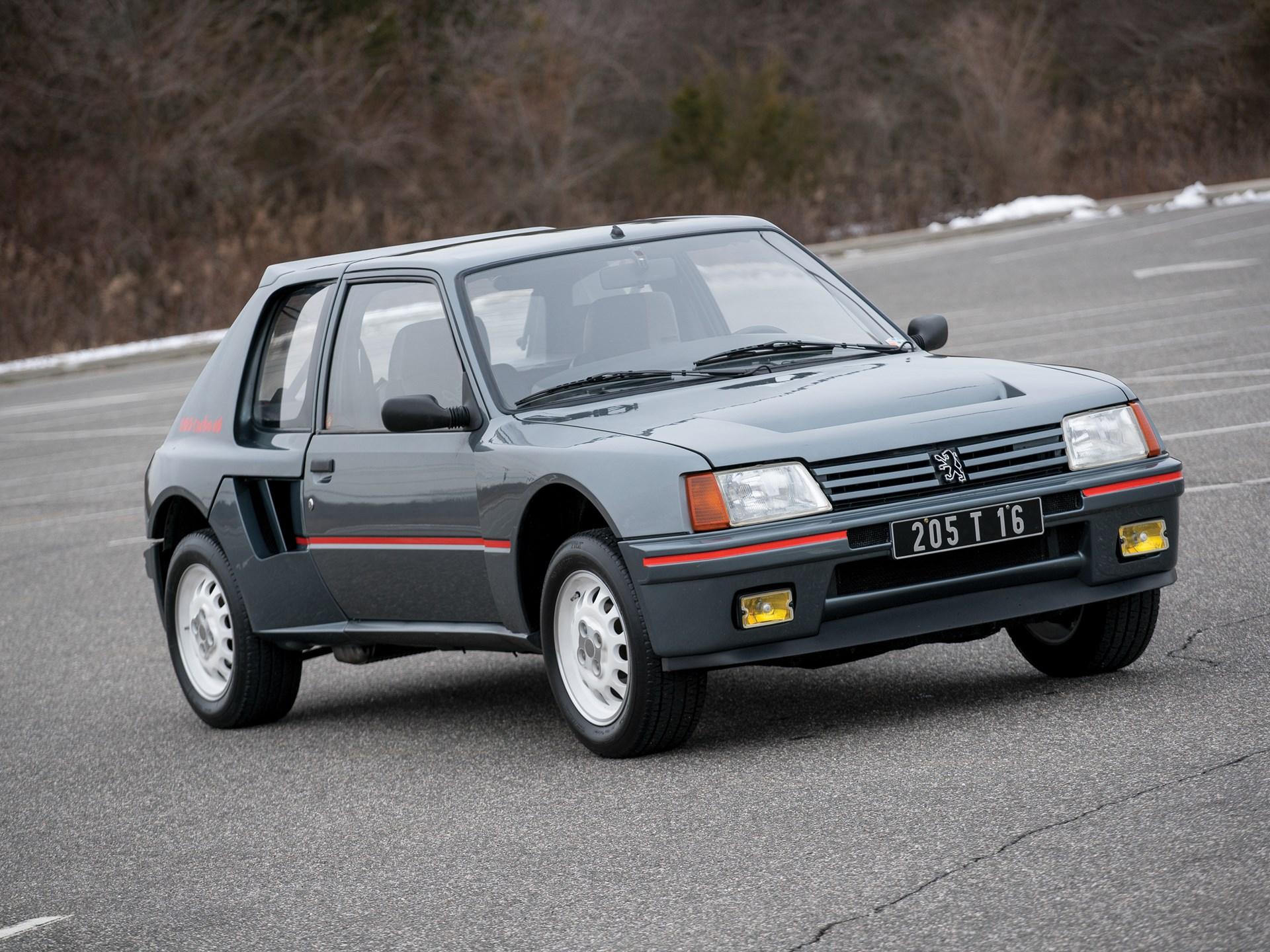 RM Sotheby's - 1984 Peugeot 205 Turbo 16   Amelia Island 2018