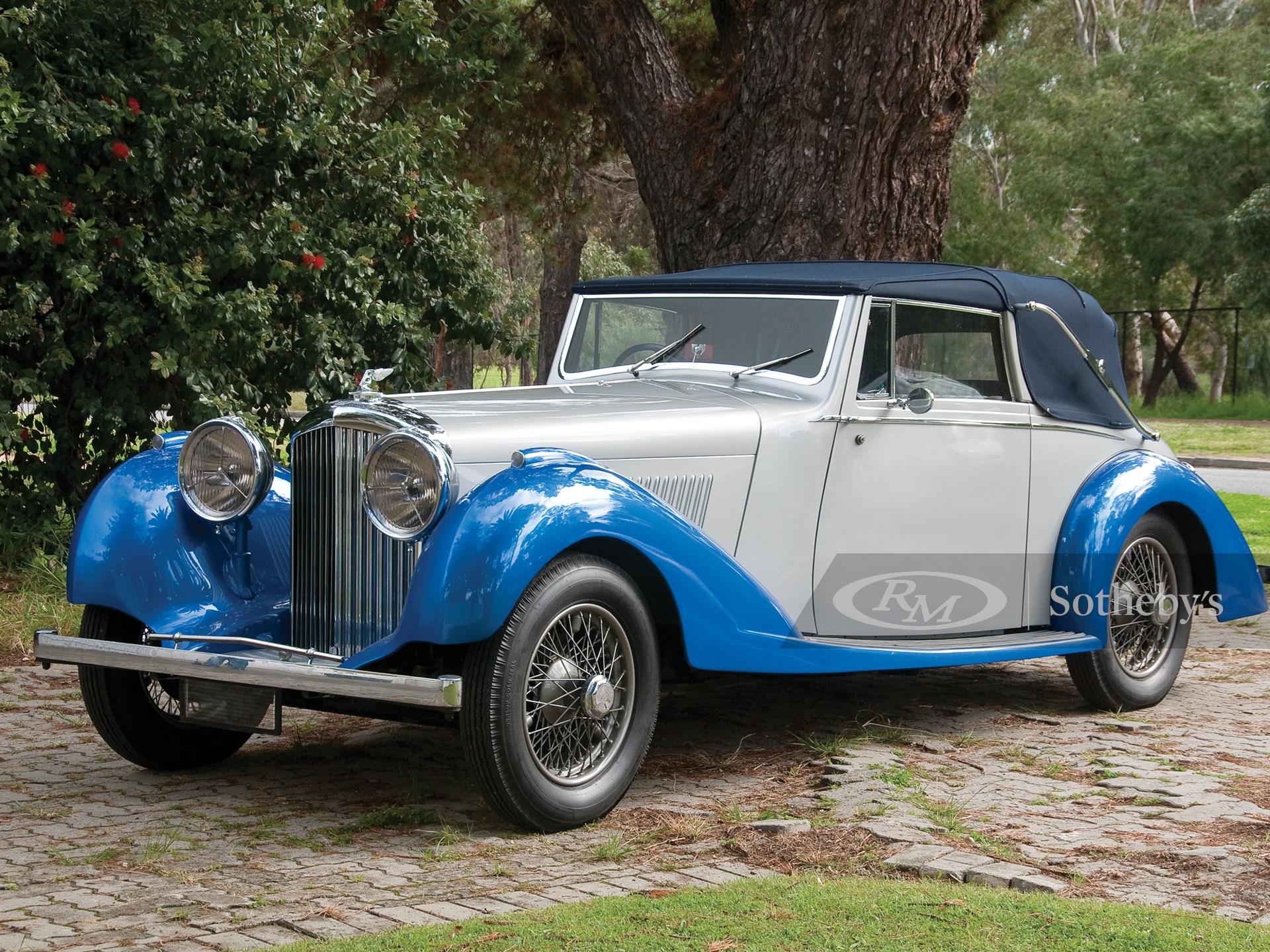 1936 Bentley 4 1/4 Litre Drophead Coupé
