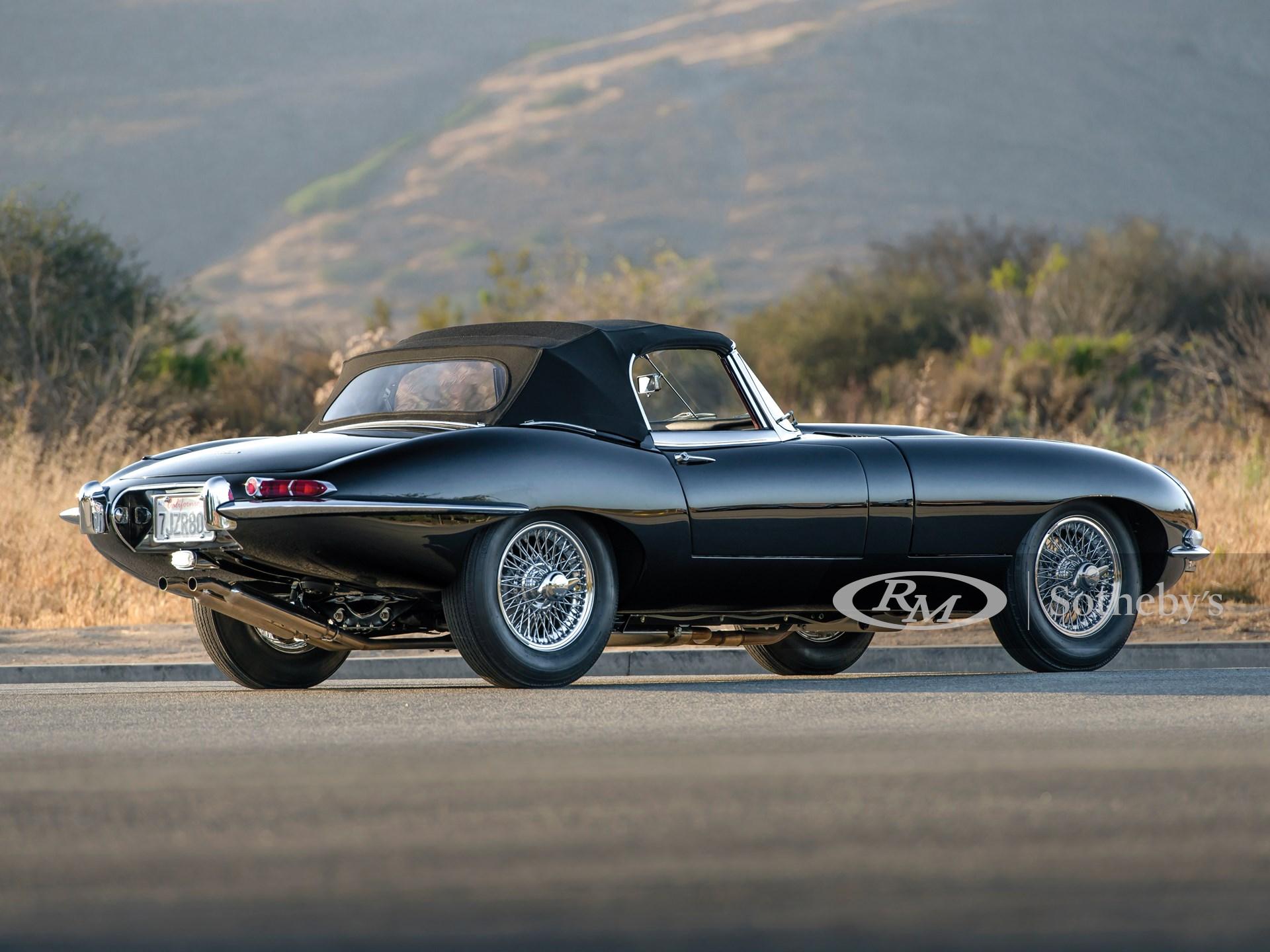 1961 Jaguar E-Type Series 1 3.8-Litre Roadster | Monterey ...