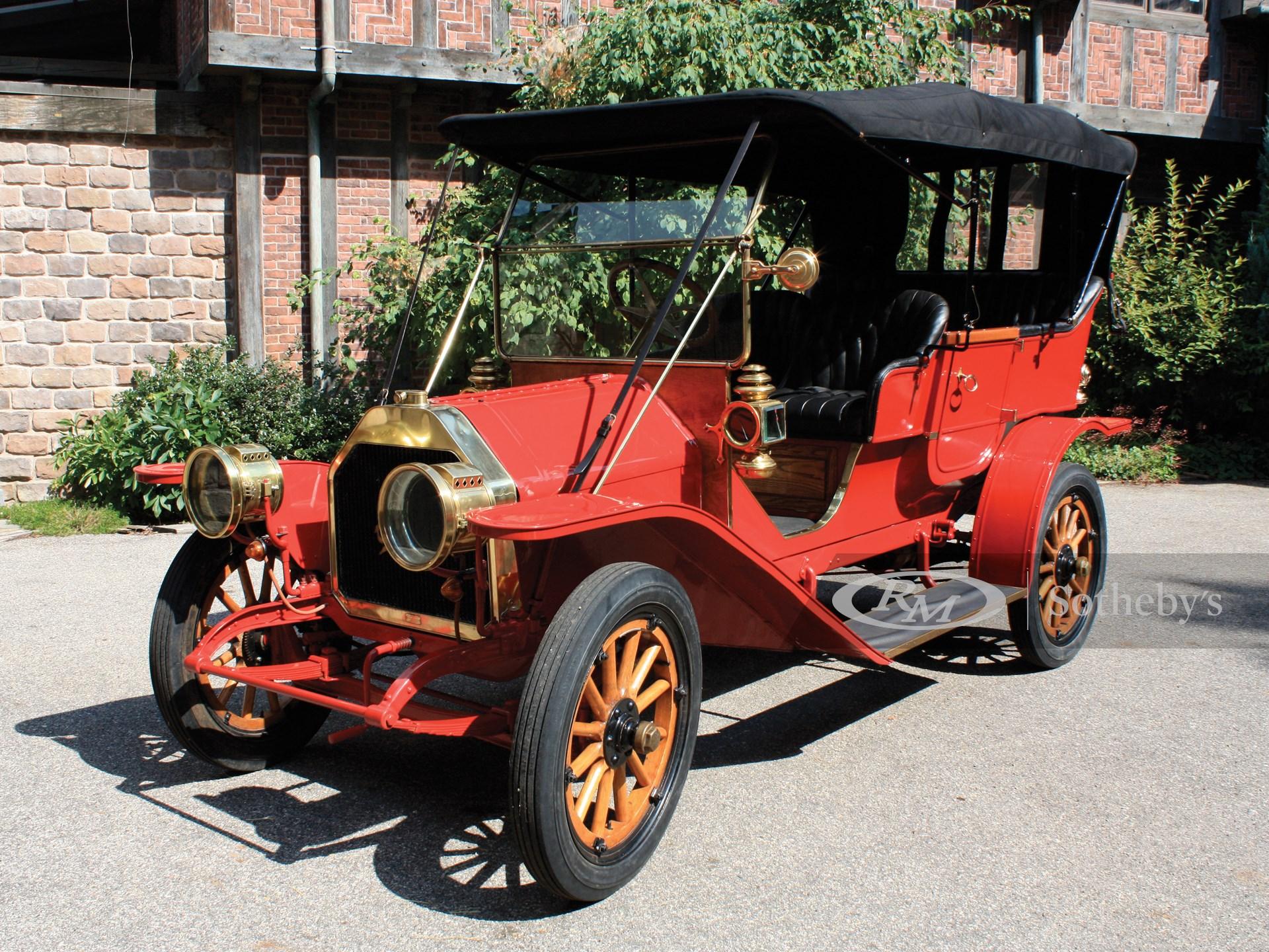 1910 Overland Model 42 Five-Passenger Touring