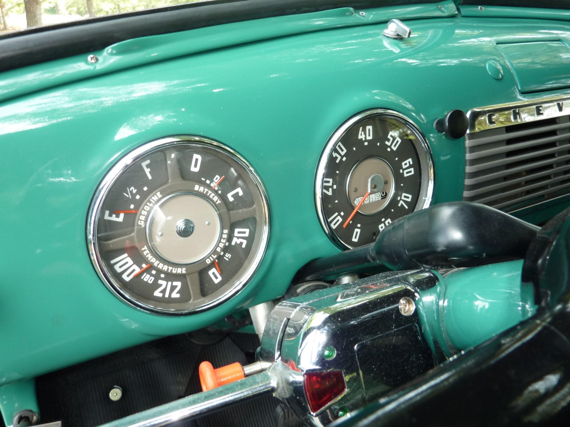 Rm Sothebys 1951 Chevrolet 3100 5 Window Pickup Truck Amelia