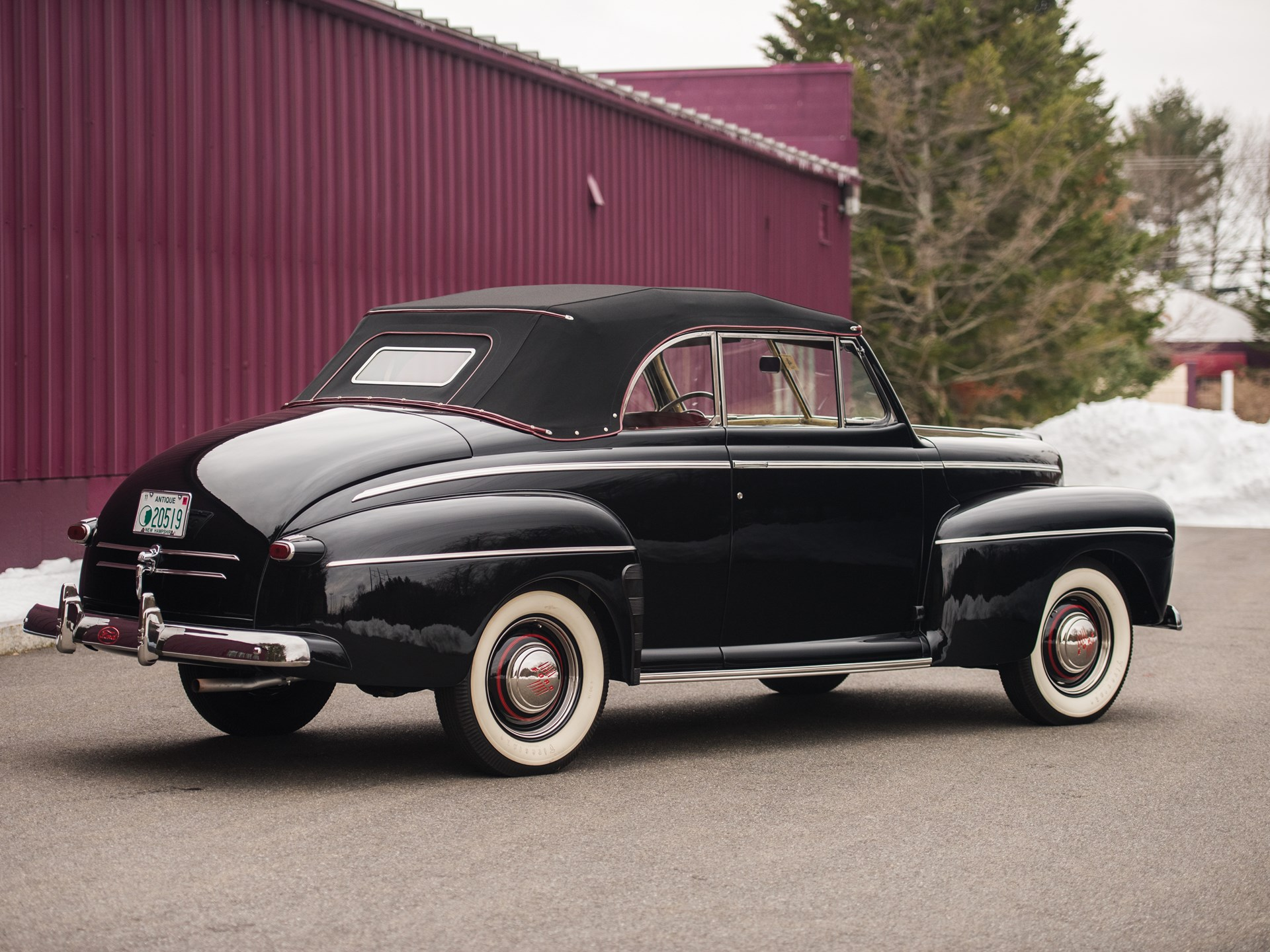 rm sotheby 39 s 1946 ford super deluxe convertible the. Black Bedroom Furniture Sets. Home Design Ideas