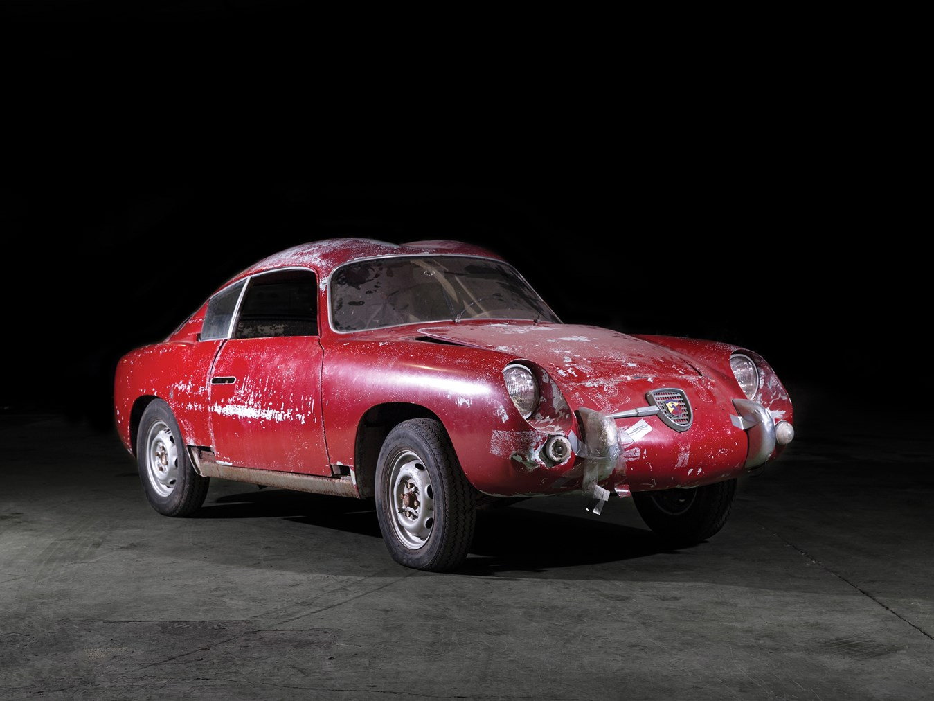 rm sotheby's - 1958 fiat-abarth 750 gt 'double bubble'zagato