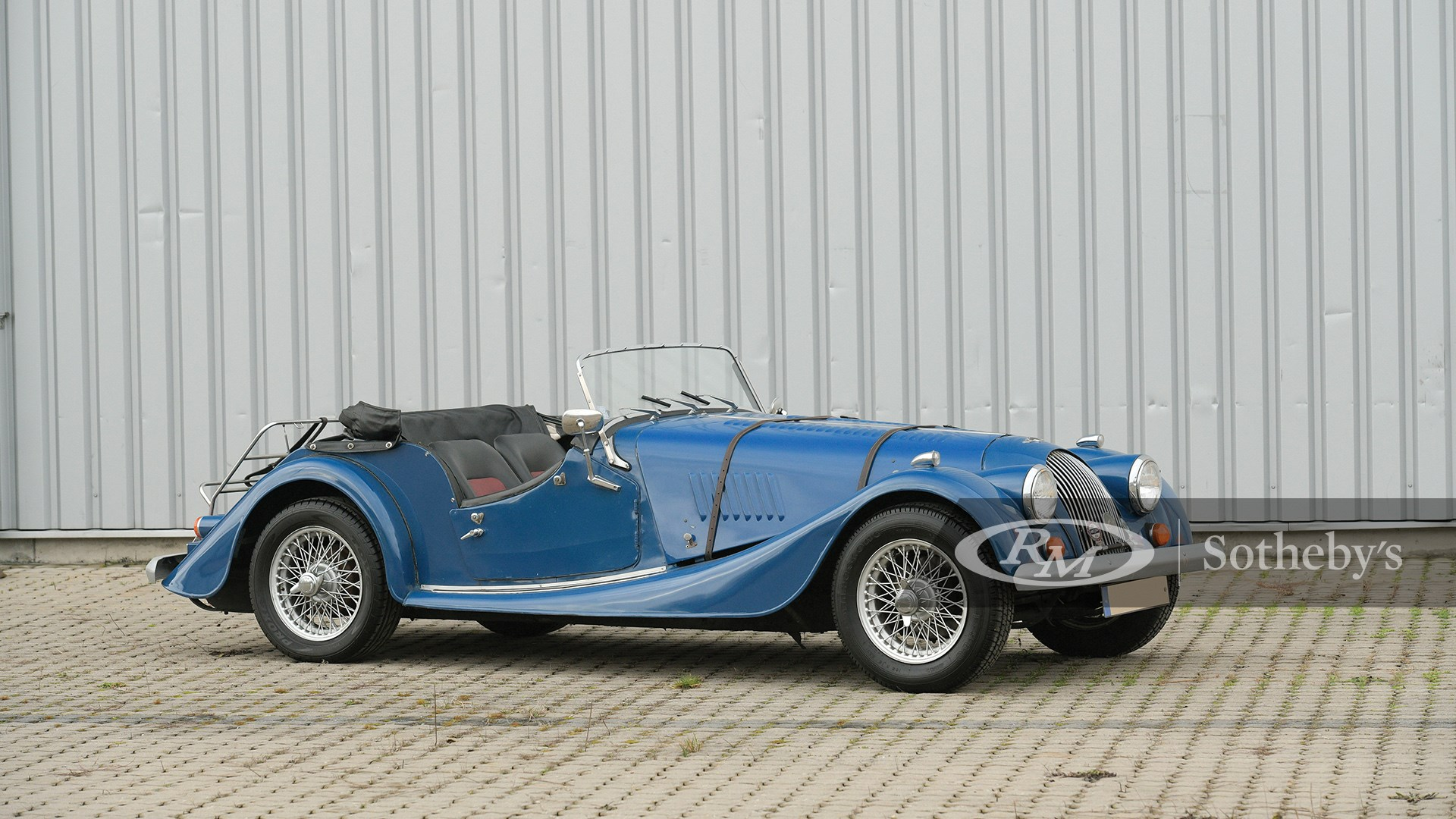 The European Sale Featuring The Petitjean Collection, 1980 Morgan 4/4 1600