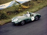 1956 Aston Martin DBR1  - $DBR1/1 races to a first place finish at the 1959 1000km of the Nürburgring.