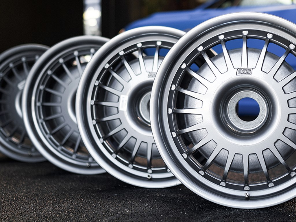 Set of Bugatti EB110 Wheels offered at RM Sothebys Online Only Open Roads April Auction 2021