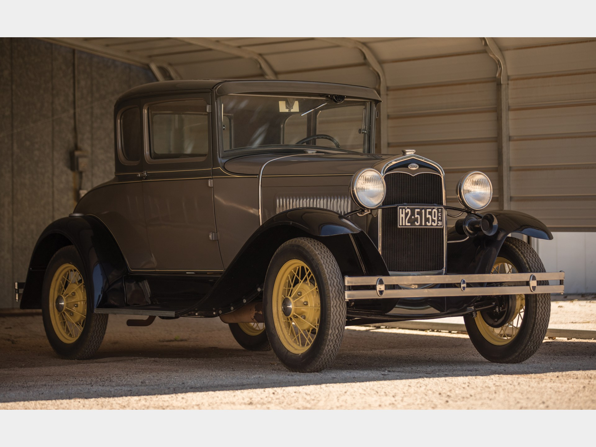 rm sotheby 39 s 1931 ford model a coupe hershey 2017. Black Bedroom Furniture Sets. Home Design Ideas