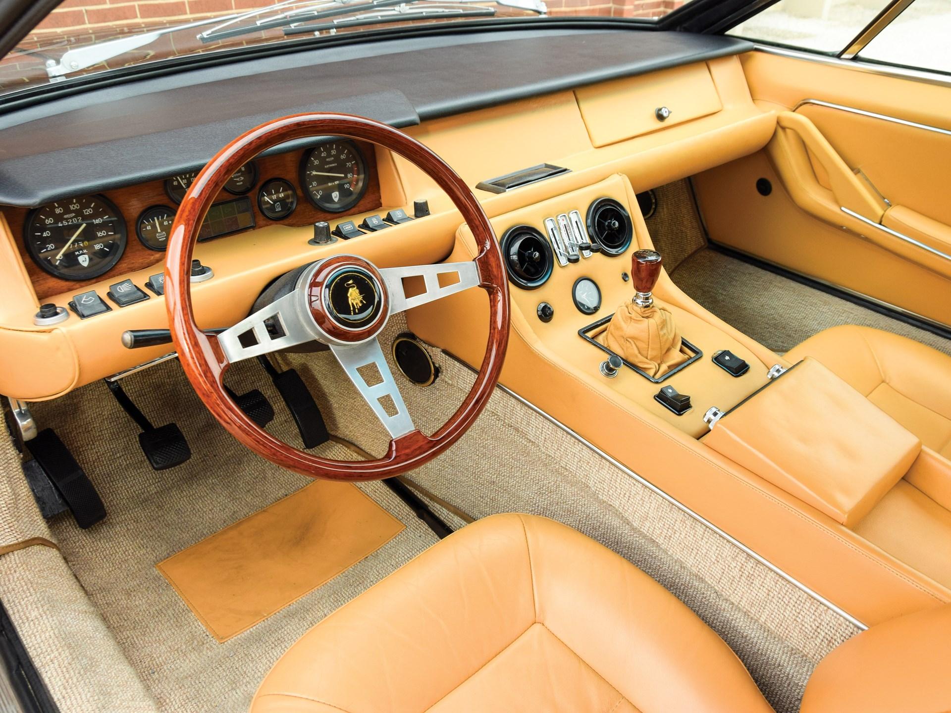 1972 Lamborghini Jarama 400 GT by Bertone