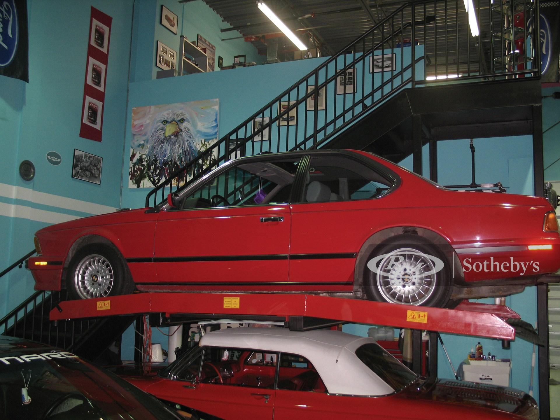 1989 BMW 635 CSI 2D  -
