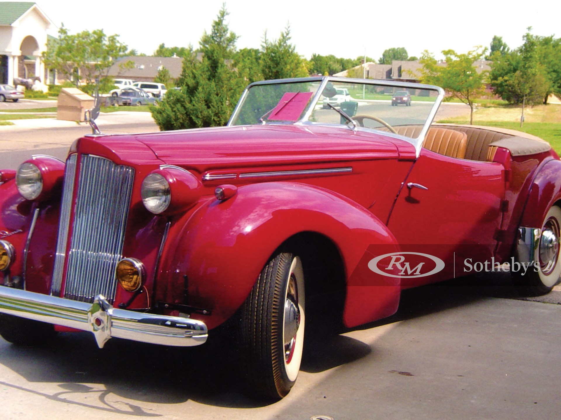 1940 Packard One Twenty Convertible Victoria