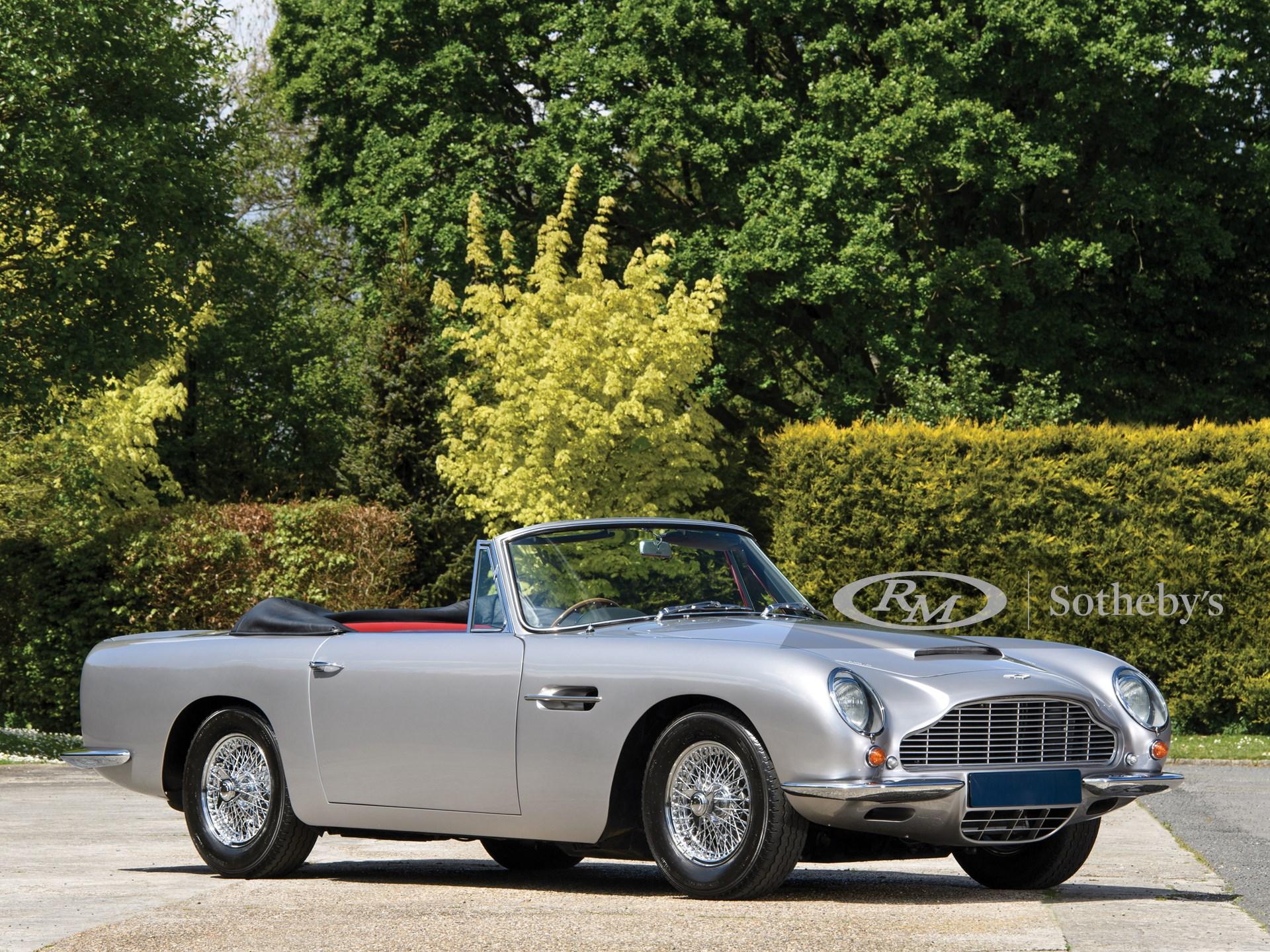 1968 Aston Martin Db6 Volante London 2019 Rm Sotheby S