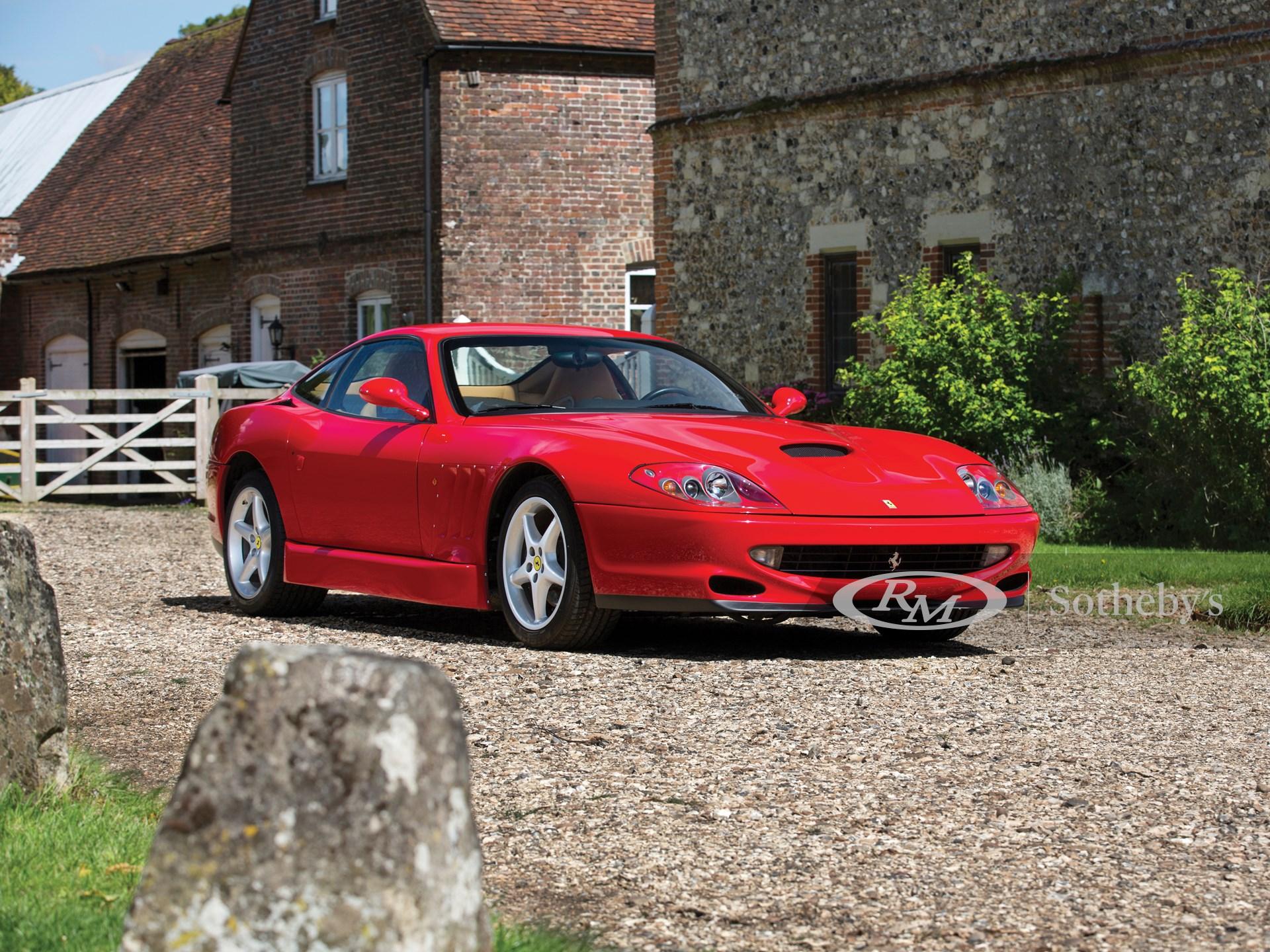 2001 Ferrari 550 Sperimentale