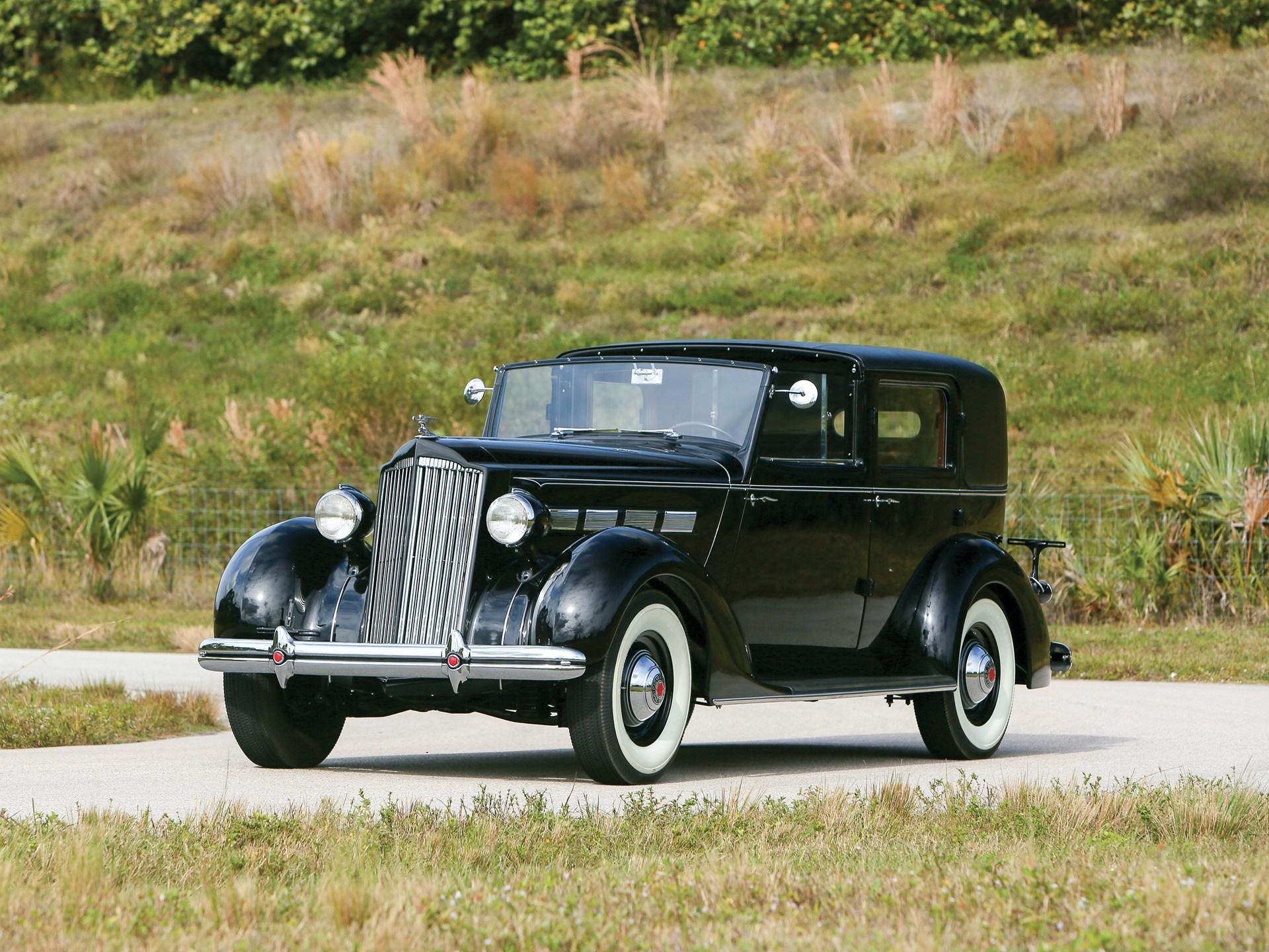 1937 Packard One Twenty All-Weather Cabriolet by Rollston