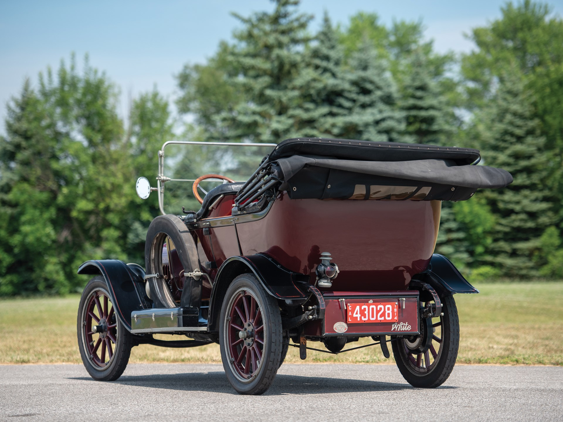 1914 White Model Thirty G.A.H. Touring