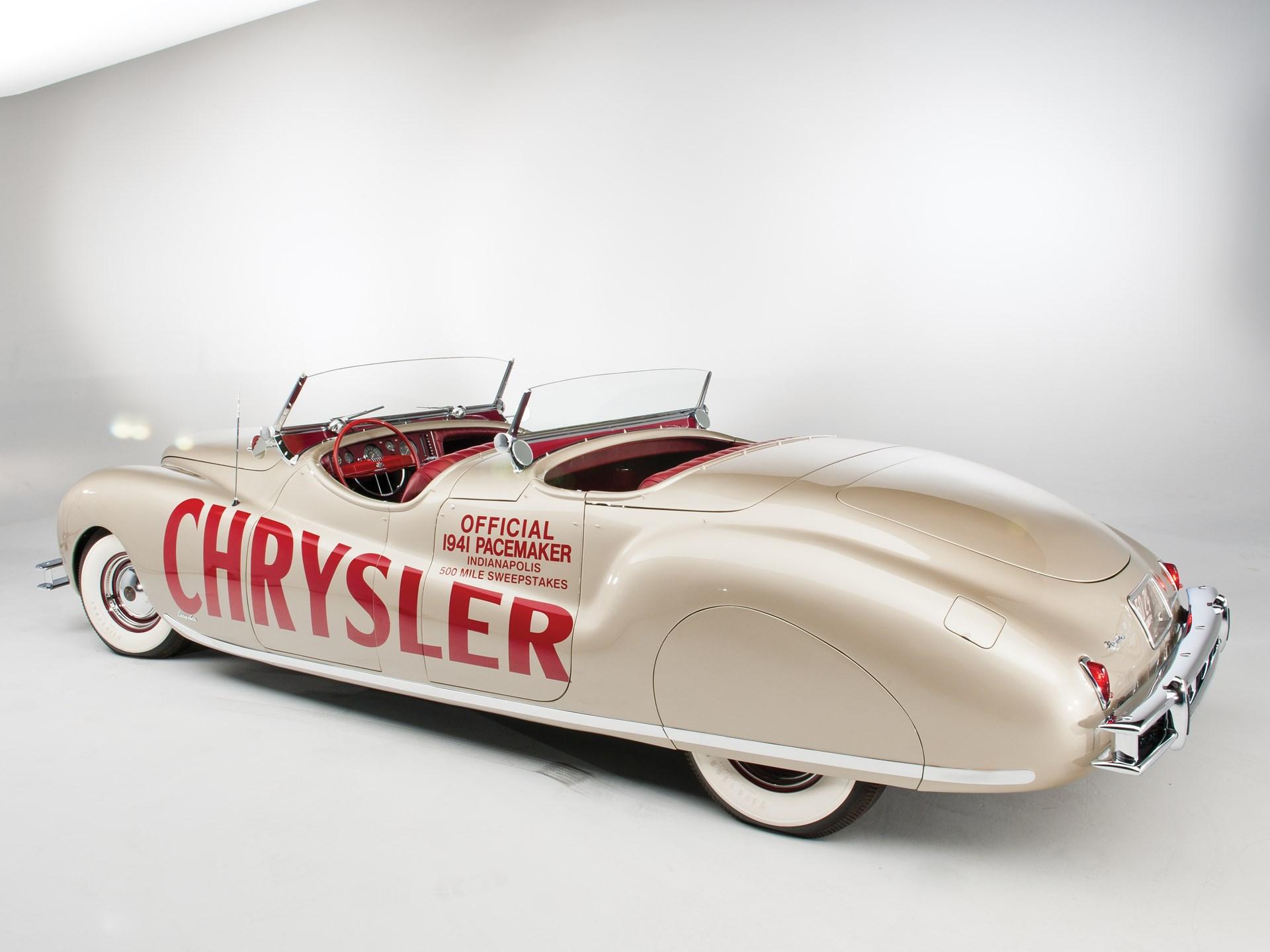 1941 Chrysler Newport Dual Cowl Phaeton by LeBaron